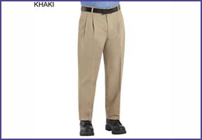 khaki executive casual pants