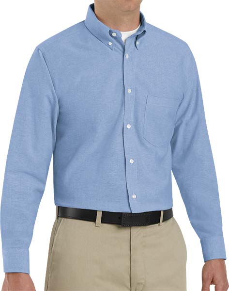 39d1f700bf3 a blue oxford dress shirt