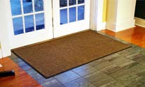 brown mat
