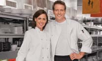 chefs in white kitchen uniforms
