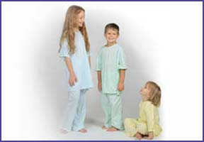 kids patient gowns