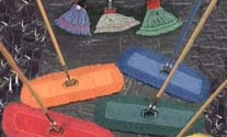 wet and dust mops